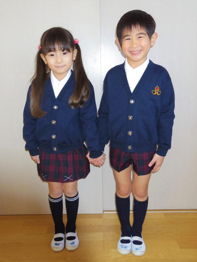 冬制服|大崎市木の実幼稚園
