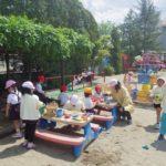大人気の砂場|大崎市木の実幼稚園